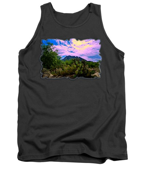 Sonoran Morning H54 Tank Top by Mark Myhaver