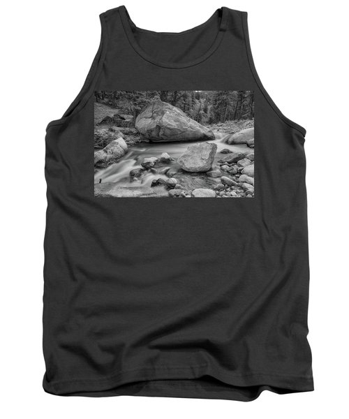 Soothing Colorado Monochrome Wilderness Tank Top by James BO Insogna