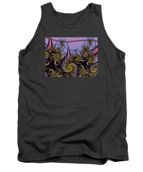 Tank Top featuring the digital art Sorcerers Apprentice by Karin Kuhlmann