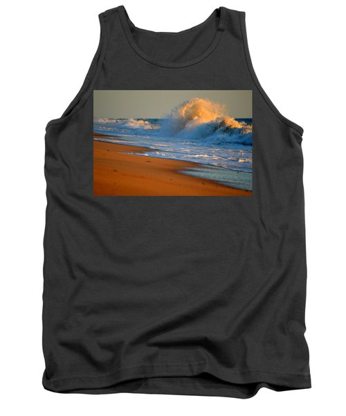 Sound Of The Surf Tank Top by Dianne Cowen