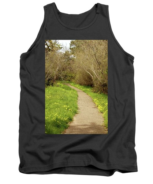 Tank Top featuring the photograph Sour Grass Trail by Art Block Collections