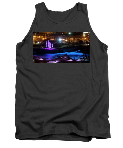 South Bend River Night Tank Top by Brian Jones