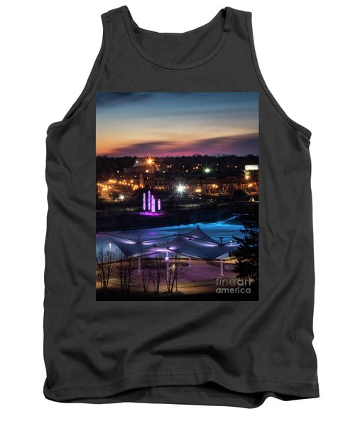 South Bend River Sunrise Tank Top by Brian Jones