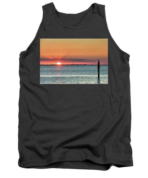 South Padre Island Sunset Tank Top