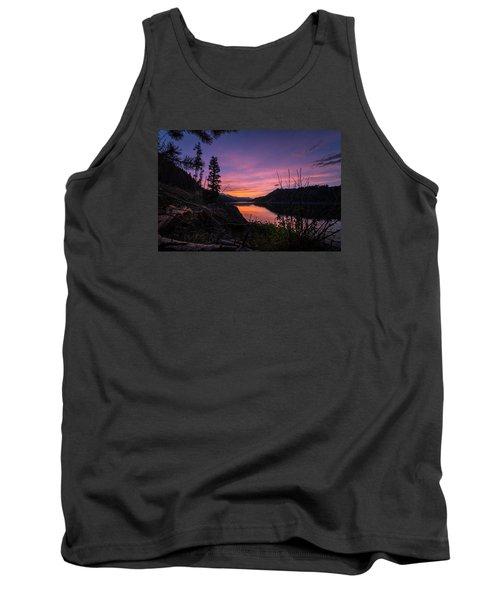 South Shore Lake Dillon Sunset Tank Top