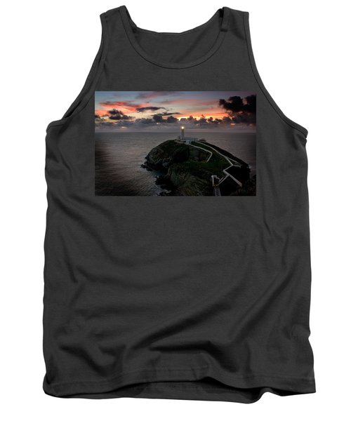 South Stack At Sunset Tank Top