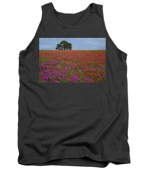 South Texas Bloom Tank Top by Susan Rovira