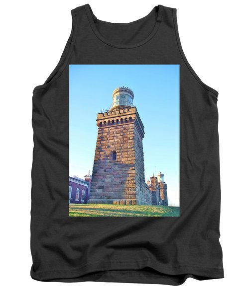 South Tower Of Twin Lights Tank Top