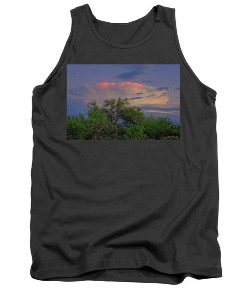 Tank Top featuring the photograph Southeast Of Sunset H38 by Mark Myhaver