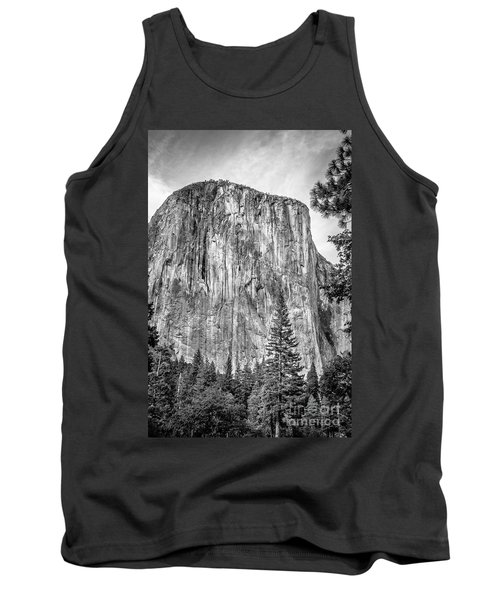 Southwest Face Of El Capitan From Yosemite Valley Tank Top