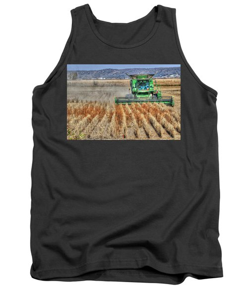 Soybean Harvest Fremont County Iowa Tank Top