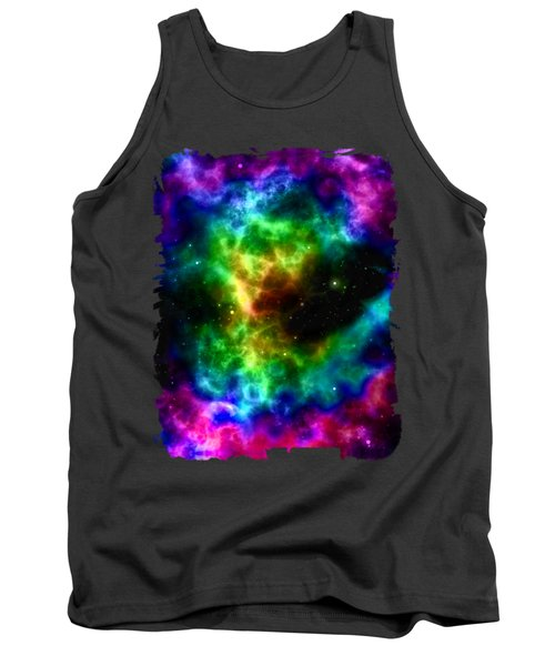 Space Abstract Tank Top
