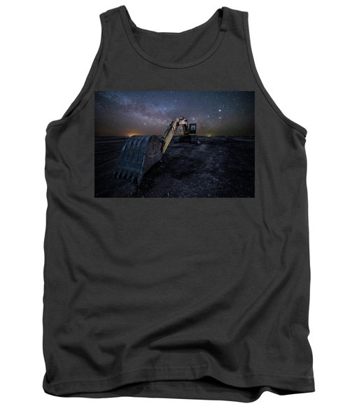 Tank Top featuring the photograph Space Excavator  by Aaron J Groen