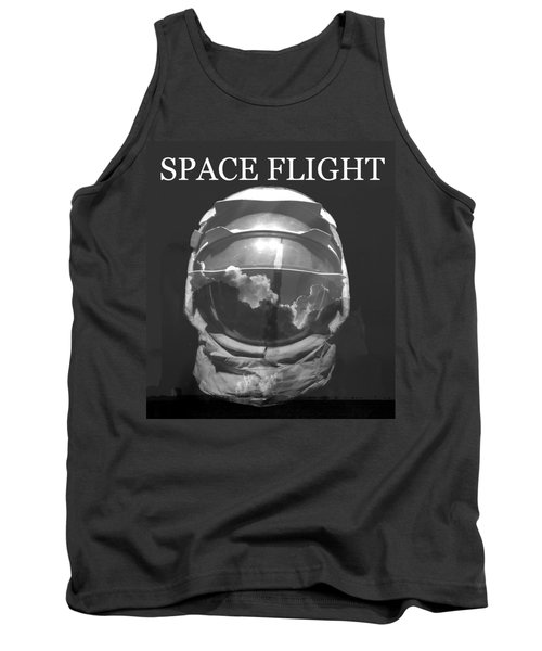 Tank Top featuring the photograph Space Flight by David Lee Thompson