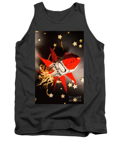 Space Launch To Seek And Discover Tank Top