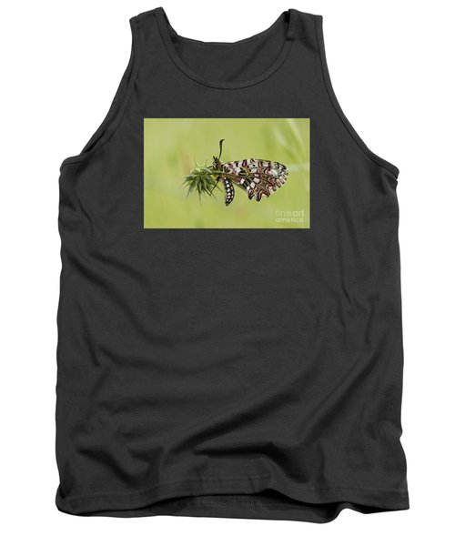 Spanish Festoon Butterfly Tank Top