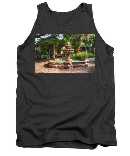 Spanish Fountain Tank Top