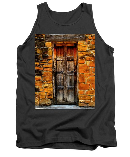 Spanish Mission Door Tank Top by Perry Webster