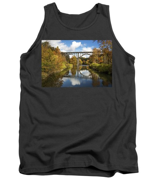 Spanning The Cuyahoga River Tank Top