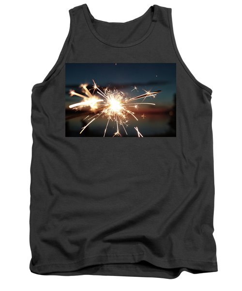 Sparklers After Sunset Tank Top