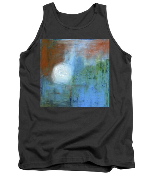 Tank Top featuring the painting Sparkling Sun-rays by Michal Mitak Mahgerefteh