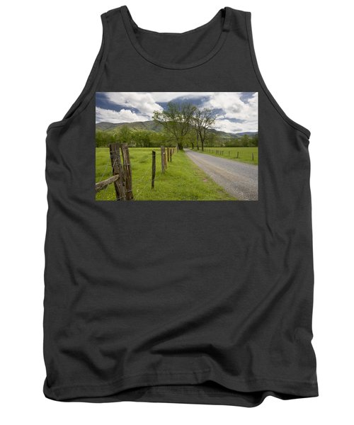 Sparks Lane In Cade Cove Tank Top