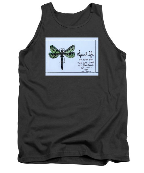 Tank Top featuring the painting Speak Life To Your Soul by Elizabeth Robinette Tyndall