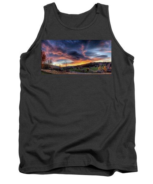 Spearfish Canyon Golf Club Sunrise Tank Top