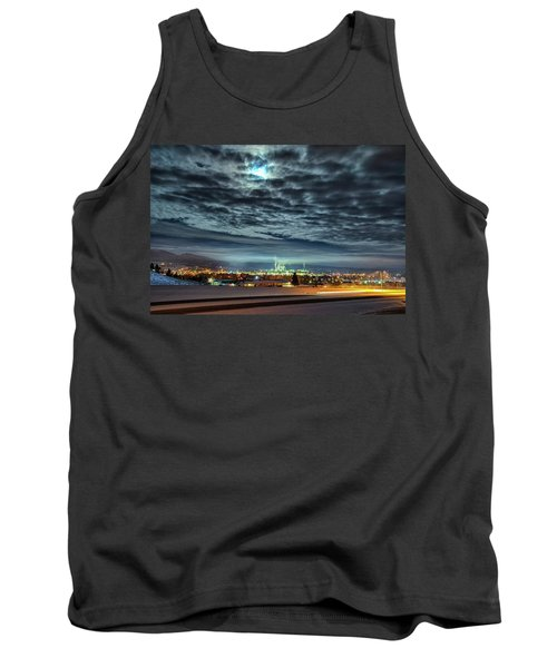 Spearfish Under The Moon Tank Top by Fiskr Larsen