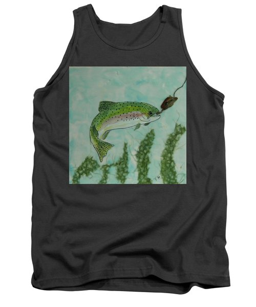 Speckled Tank Top by Terry Honstead