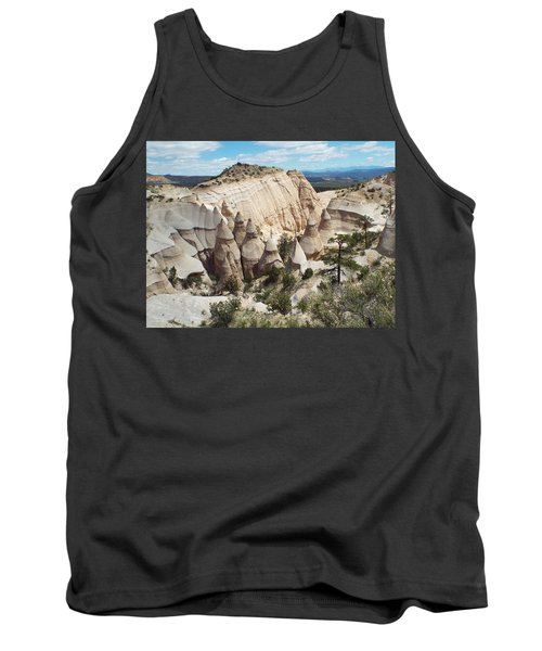Spectacular Slot Canyon Trail View-at-the-top Tank Top by Cindy Croal