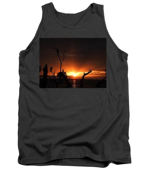 Tank Top featuring the photograph Spectacular Sunset by Betty-Anne McDonald