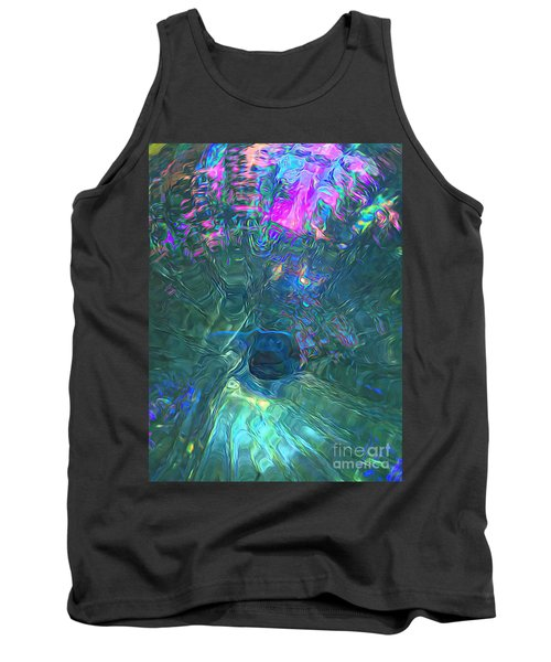 Spectral Sphere Tank Top by Todd Breitling