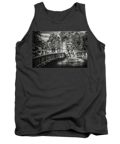 Tank Top featuring the photograph Speedwell Swirls by Eduard Moldoveanu