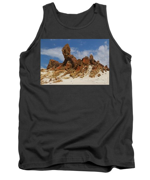 Sphinx Of South Australia Tank Top by Stephen Mitchell