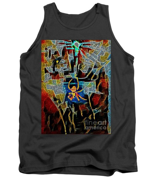 Tank Top featuring the photograph Spider by Karen Newell