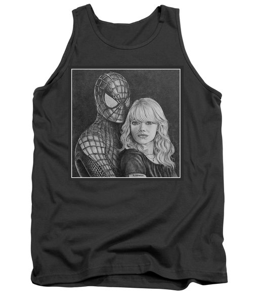 Spidey And Gwen Tank Top