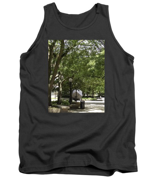 Spinning Cube On Campus Tank Top