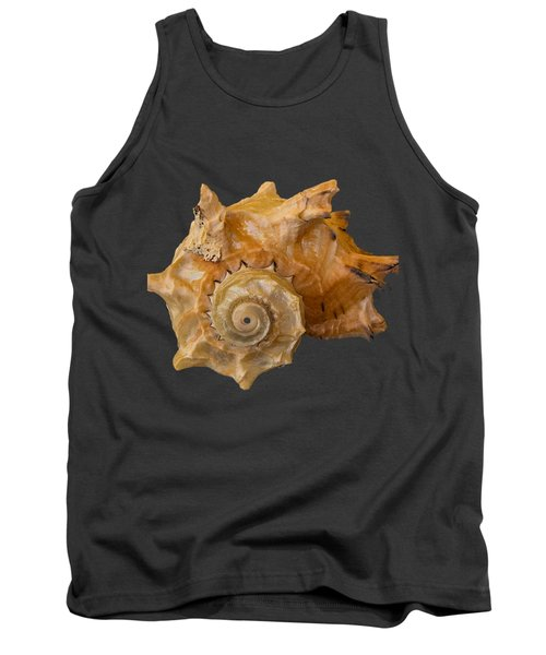 Spiral Shell Transparency Tank Top