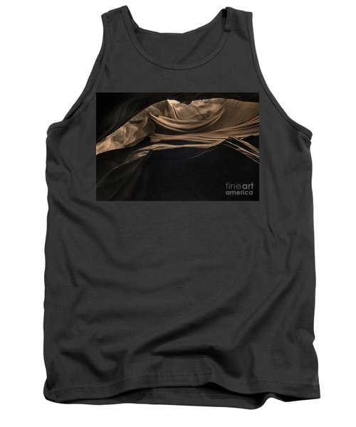 Spiraling Toward The Light Tank Top by William Fields