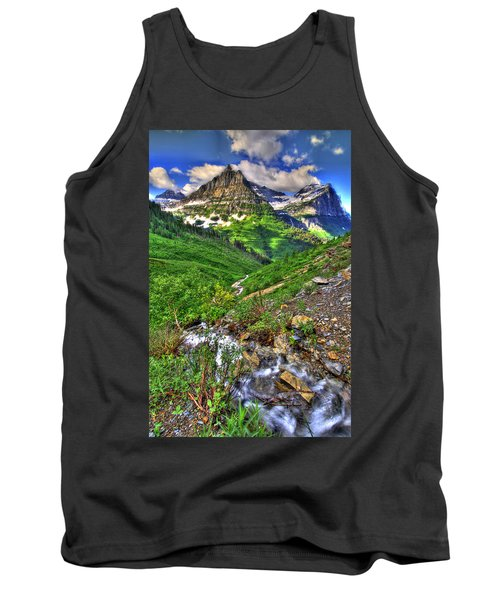 Spires And Stream Tank Top by Scott Mahon