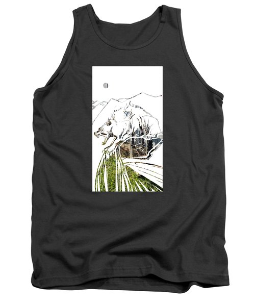 Spirit Animal . Wolverine Tank Top