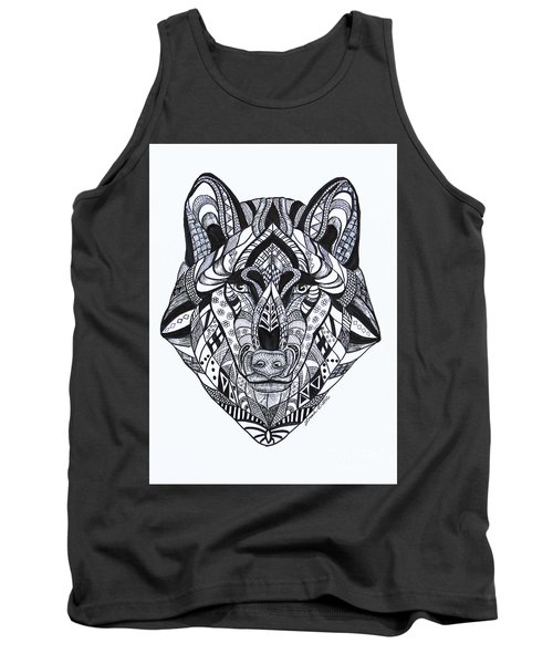 Spirit Wolf Tank Top