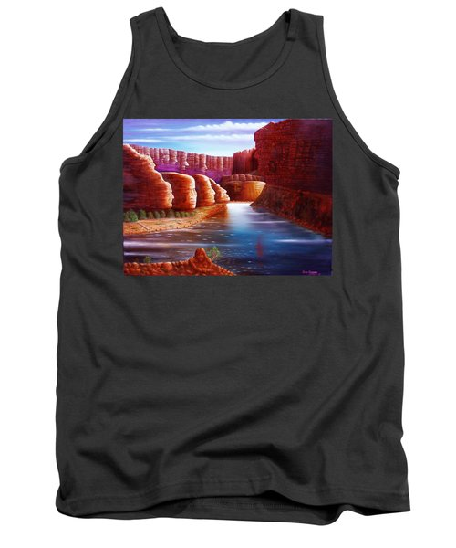 Spirits Of The River Tank Top