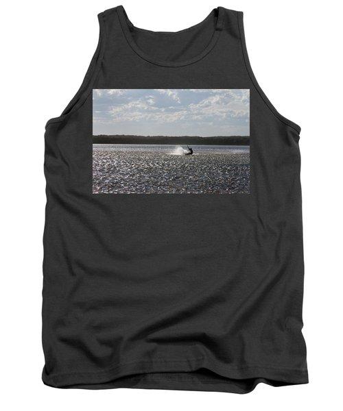 Tank Top featuring the photograph Splash At Lake Wollumboola by Miroslava Jurcik