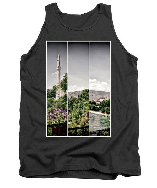 Split Landscape Tank Top