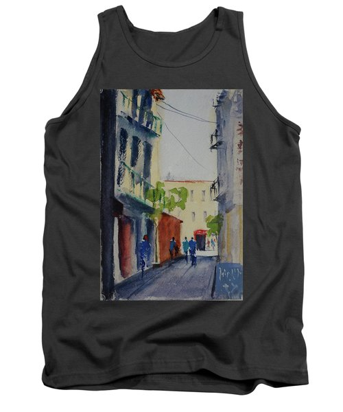 Spofford Street3 Tank Top by Tom Simmons