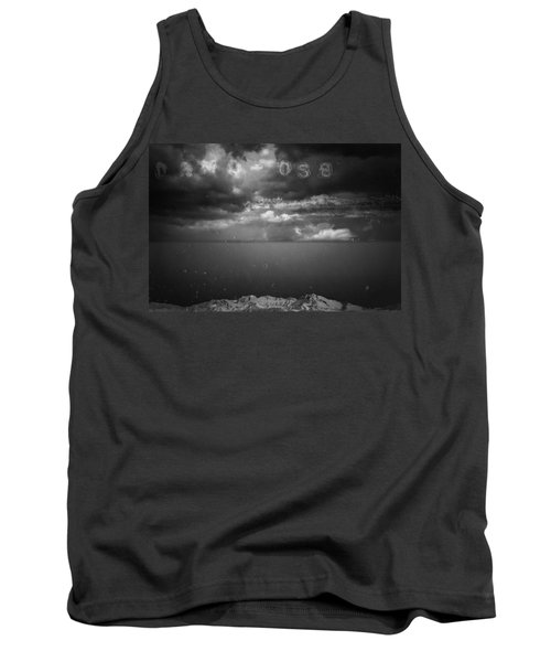 Spoken Tank Top by Mark Ross