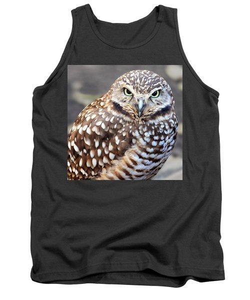 Spots - Burrowing Owl Tank Top