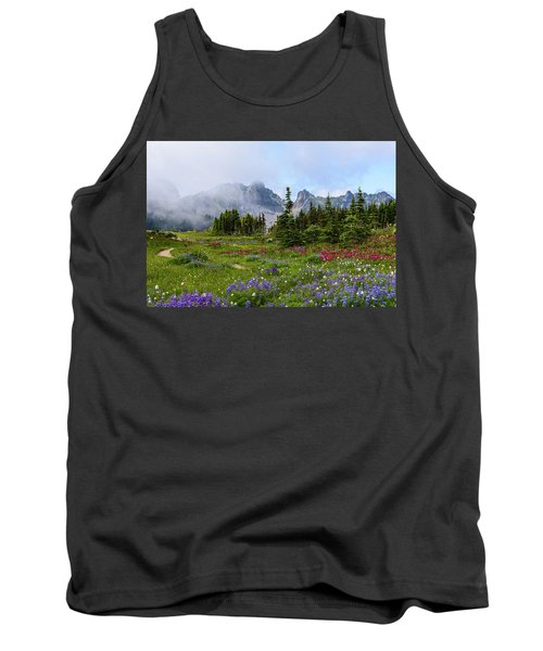 Spray Park In Mount Rainier Tank Top